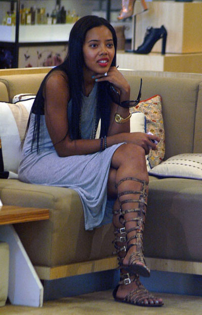 Angela Simmons Gladiator shoes 03