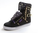 Sugar Rush Stud Canvas - Black