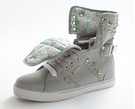 Sugar Rush Stud Canvas - Gray