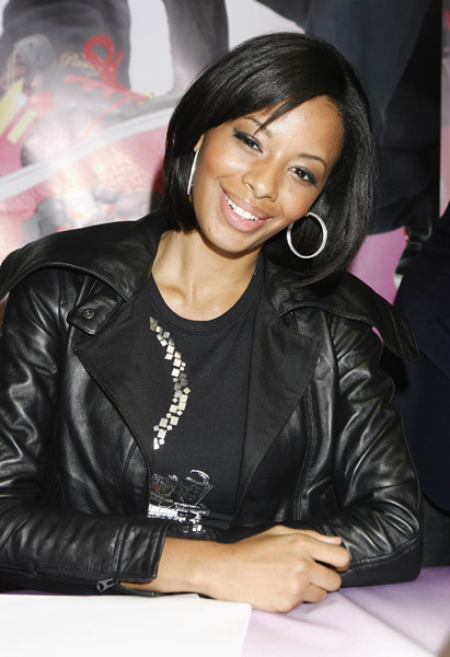 Vanessa Simmons at the Pastry Footwear Launch in London, November 2008