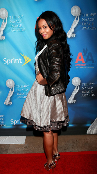 Vanessa Simmons at the 40th NAACP Image Awards, February 2009