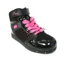 Glam-Pie-Dark-Black/Fuschia