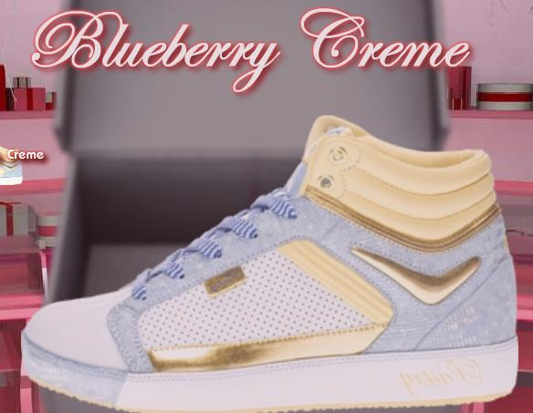 Blueberry Icing Hi Top: