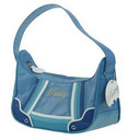 Pastry Handbags: Blue Layer Cake Pouch