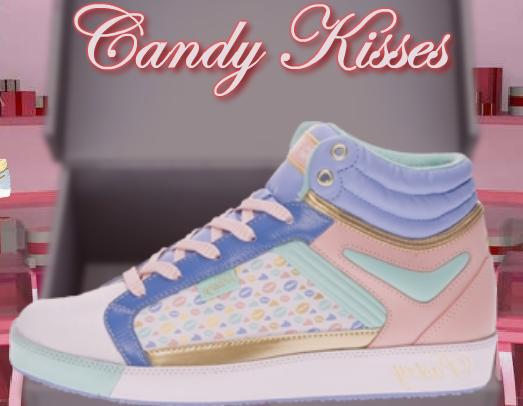 Candy Kisses Hi Top