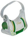 Pastry Handbags: Green Candy Sprinkles Shoulder Bag