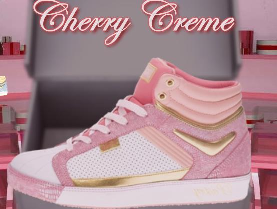 Cherry Creme Hi Top