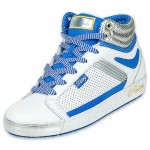 fab cookie boot white blue yellow