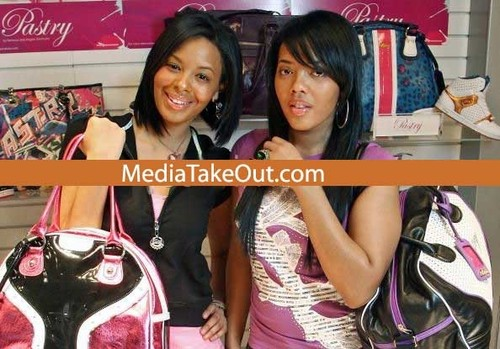 Vanessa and Angela Simmons at MAGIC