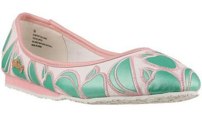 Pastry Ballerina Flats in Apple