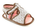 INFANT SIZE: Pastry Chocolate Sprinkles Sandals