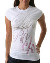 Pastry Apparel: LETS ROCK RHINESTONE TEE