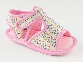 pastry baby shoes