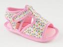 INFANT SIZE: Pastry Pink Sprinkles Sandal