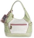 Pastry Handbags: Mint Strawberry Hobo