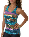 Pastry Clothing: Angle Sequin Tank