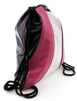glam pie raspberry cinch sack by run athletics