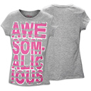 Awesomalicious Tee in Grey by Pastry