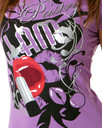Pastry Glam Tee in Purple