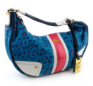 Pastry Glam Leopard Hobo Handbag