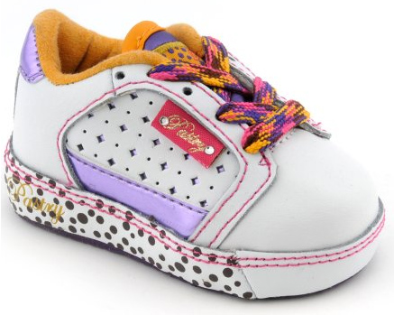 Toddler size: Pastry Lilac Fab Cookie Lowtops