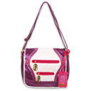 Plum Messengers Bag by Pastry