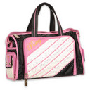 Pastry Glam Pie Duffel Bag in Pink
