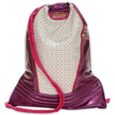 Pastry Glam Plum Cinch Sack