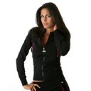 Pastry Society Full-zip Jacket with Rhinestones