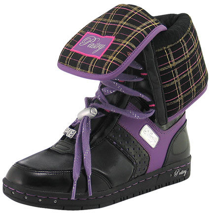 Pastry Glam Pie Ice Boots in Black