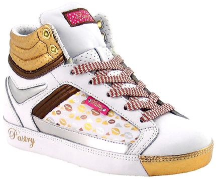 Toddler size: Pastry Metallic Kisses fab Cookie Boot