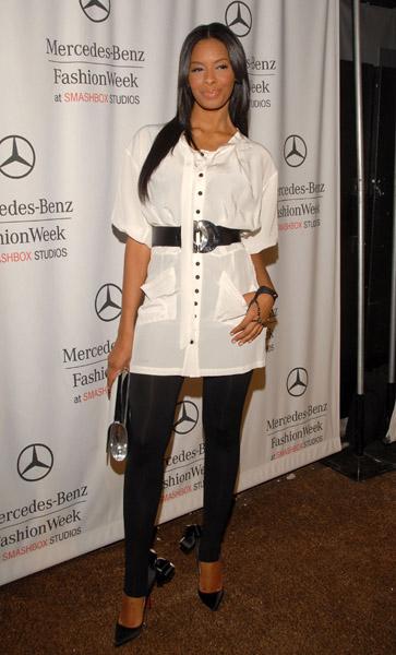Vanessa Simmons at Spring 2009 Fashion Week