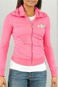 Crossed Zip Jacket in Pink by Pastry