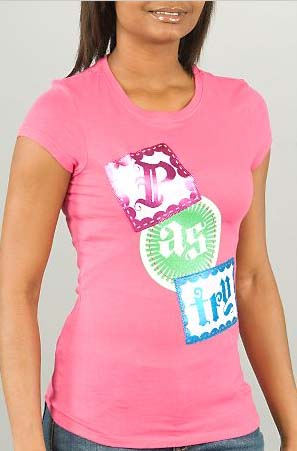 Logo Tee in Pink
