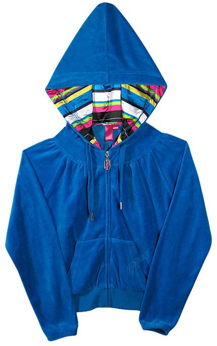 Pastry lounge hoodie in royal blue