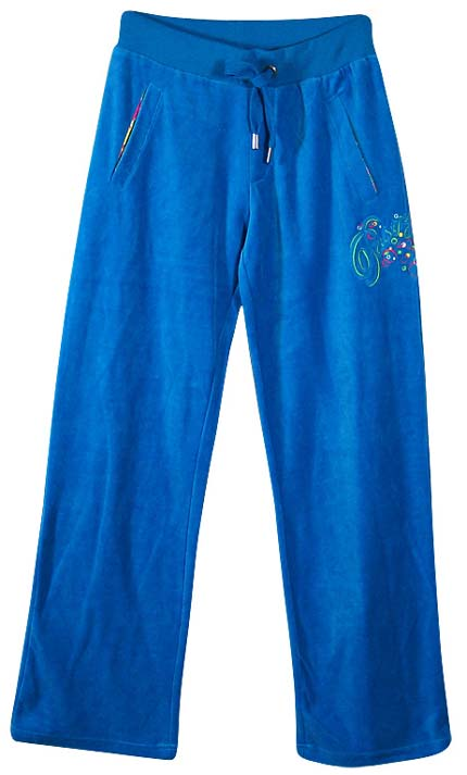 Pastry lounge pants in royal blue