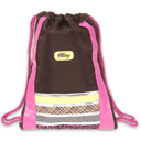 Neo Berry Cinch Sack in Brown