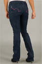 Pastry Pink Piped Jeans