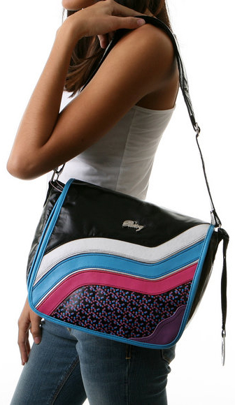 The Cake Swirl Glow in the Dark Mini Messenger