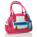 Pastry Glam Diamond Satchel in Mixed Berry