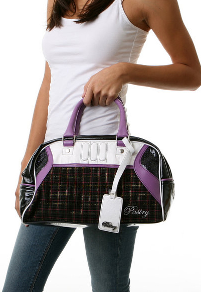 The Plaid Print Satchel