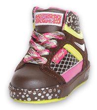 Toddler size: Pastry Choco Berry Hitops