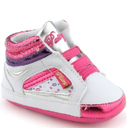 Infant Size: Pastry Berry Kisses Crib Shoes