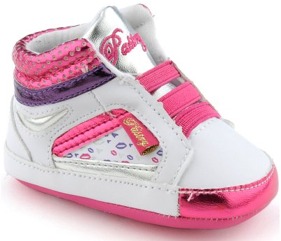 Pastry Berry Kisses Crib Shoes