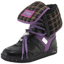 Glam Pie Ice Boots in Black