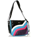 Cake Swirl Glow in the Dark Mini Messenger