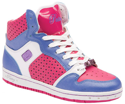 Womens Pastry Glam Pie Hi - White/Pink/Blue