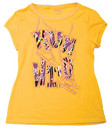 Womens Pastry Run Wild Tee – Yellow