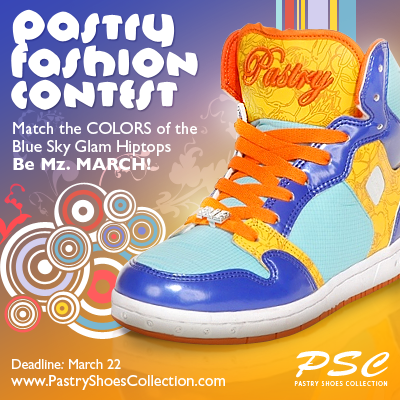 pastry shoes fashion contest