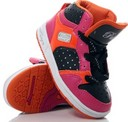 Toddler size: Pastry Hot Pink-Orange Glam Pie Hitops